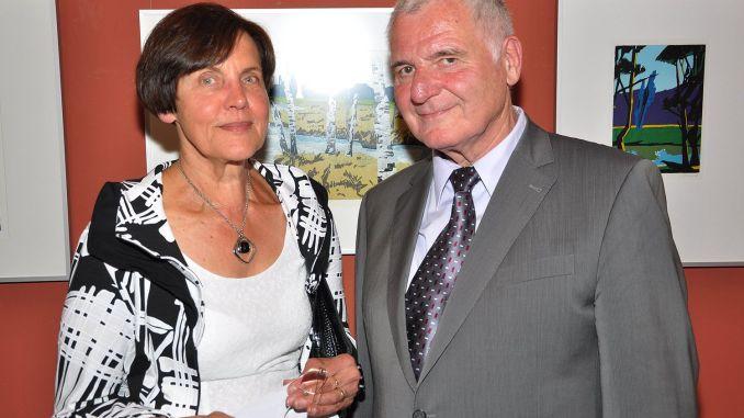Reinhilde Machalett und ihr Ehemann Dr. Klaus Machalett