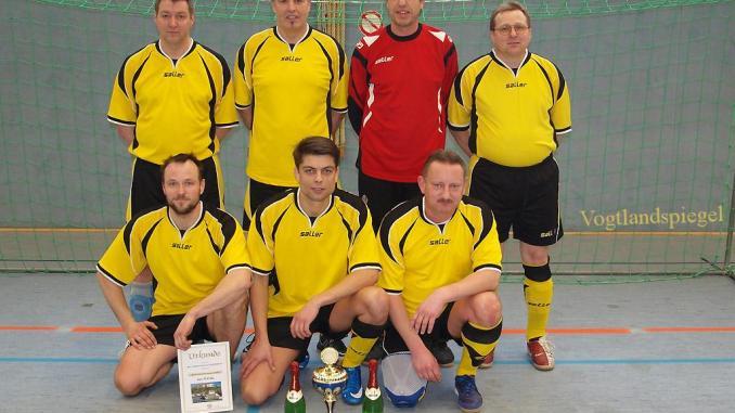 Altherrenturnier im Hallenfußball des Greizer SV