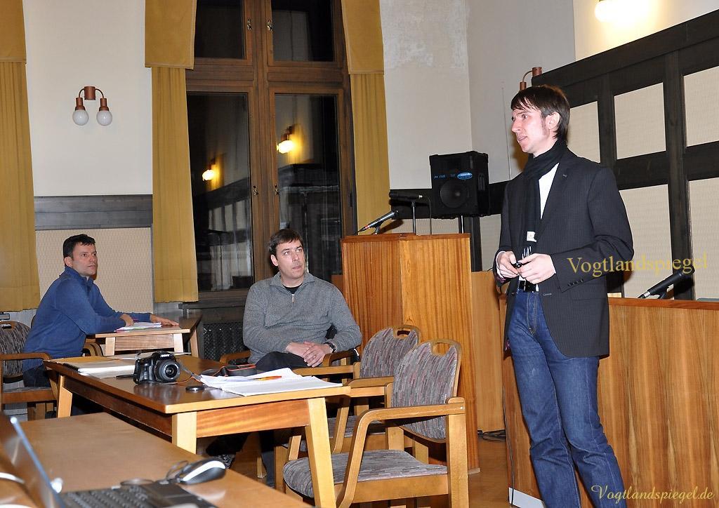 Veranstaltung zur 2. Stufe Lärmaktionsplan im Rathaus der Stadt Greiz
