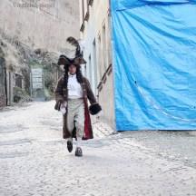 Mode&Show-Team Greiz begeisterte bei Schauspielführung durch die Innenstadt