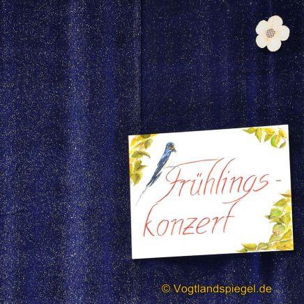 Benefizkonzert der Vogtland Philharmonie Greiz / Reichenbach zugunsten des Diakonievereines Carolinenfeld e.V