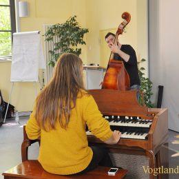 Jazz im Klassenzimmer macht Station im Greizer Ulf-Merbold-Gymnasium