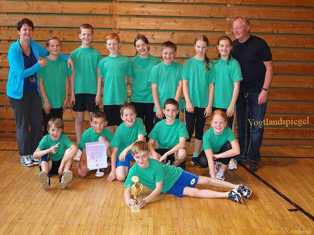 Rückersdorfer Grundschüler sind im Thüringer Landesfinale