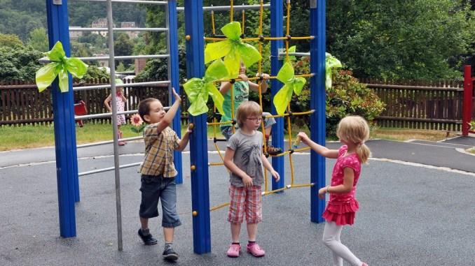 Kindergarten »Freundschaft« freut sich über neue Außenanlage