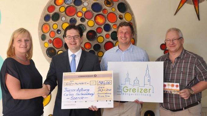 Bürgerstiftung Greiz überrascht Kindergarten »Käte Duncker« mit Spende