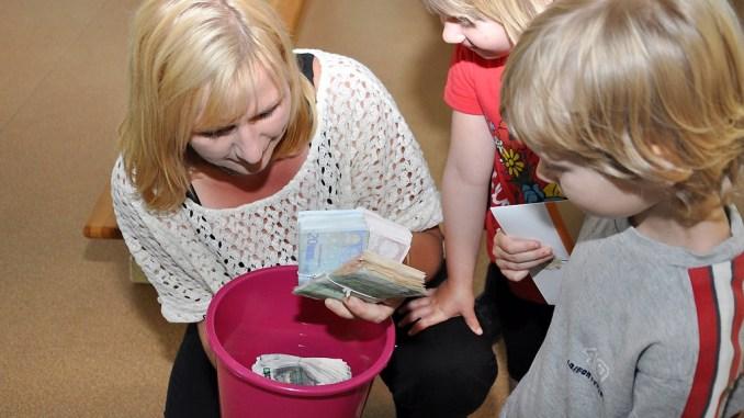 »Spende im Eimer« für Greizer Kita »Käte Duncker«