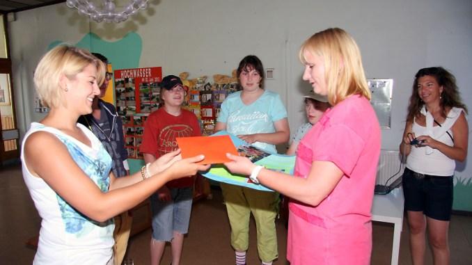 Schüler aus Bayern helfen Greizer Kindergarten