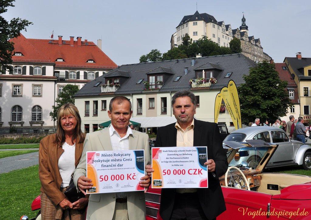 Gelebte Städtepartnerschaft zwischen Greiz und Rokycany