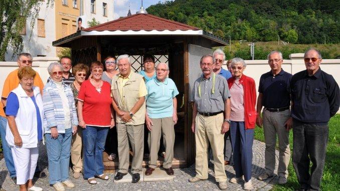 Dahlienfest und Bandschnitt in Greizer Wohnprojekt 55plus