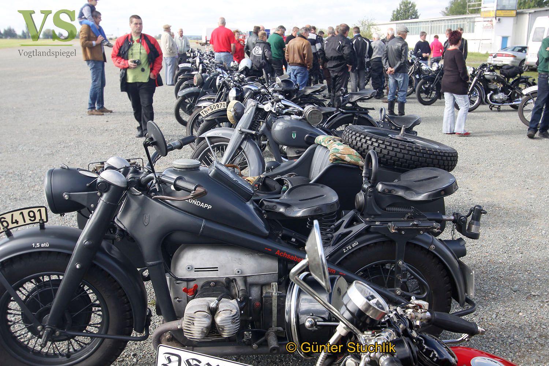 DKW-Motorradtreff in Obergrochlitz