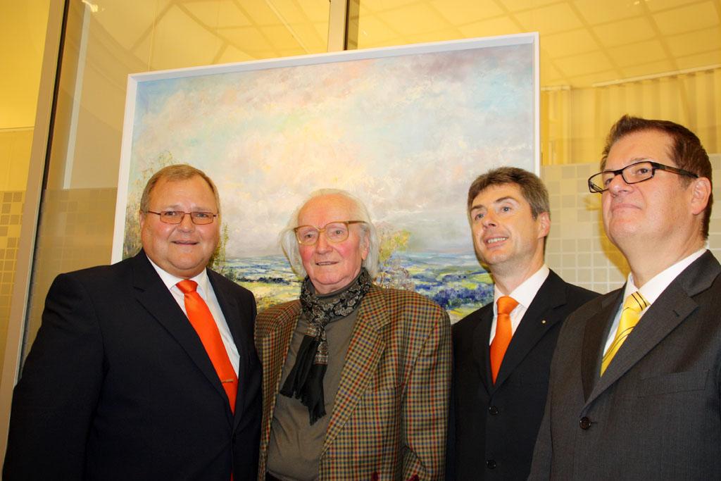 Erlebte Landschaften - Ausstellung in Volksbank Plauen