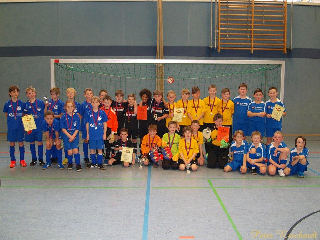 E-Junioren-Hallenfußballturnier des FSV Mohlsdorf