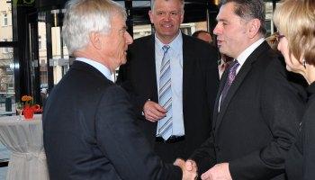 Jahresempfang des Bürgermeisters in Vogtlandhalle Greiz