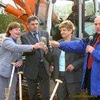 Erster Spatenstich für die neue Stadthalle Greiz