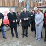 Grundsteinlegung weiterer Schritt zur neuen Stadthalle Greiz