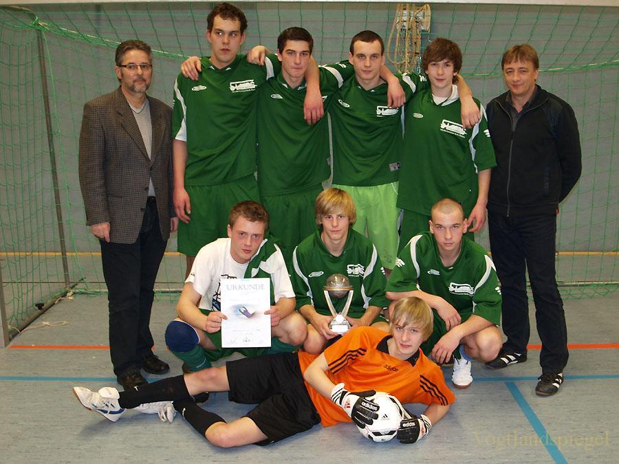 Fußball Hallenturnier um den Pokal der Euregio Egrensis