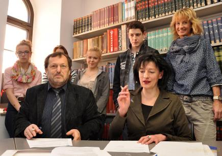 Kooperationsvertrag der Bibliothek Greiz mit der Lessing-Regelschule