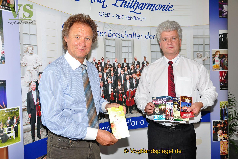 Pressekonferenz der Vogtland Philharmonie Greiz/Reichenbach