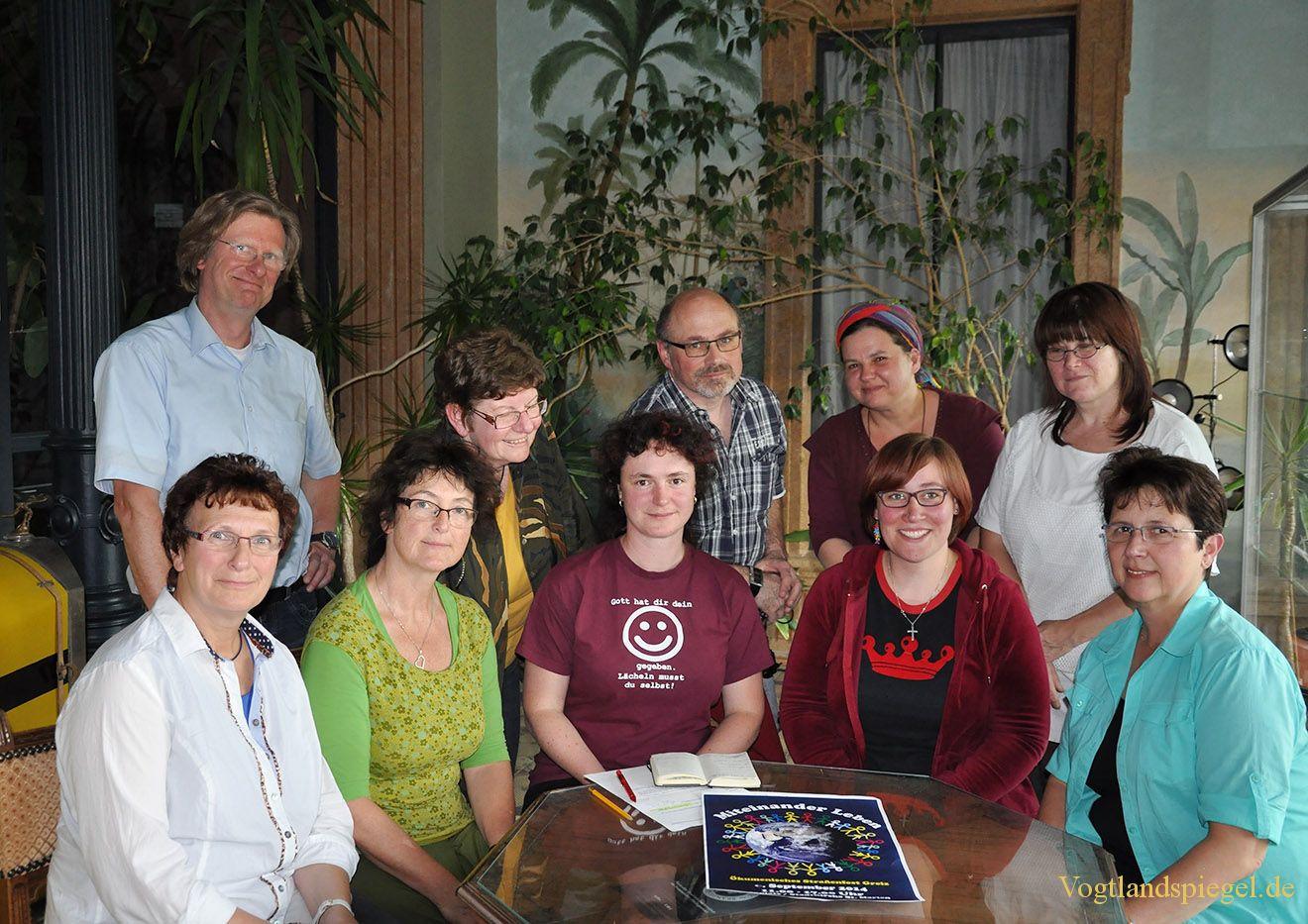 Treffen des Organisationsteams des Ökumenischen Straßenfestes