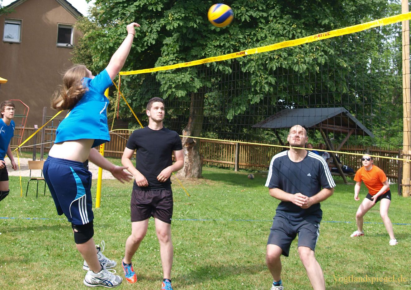 Freizeitvolleyballer beim TSV 1890 Waltersdorf