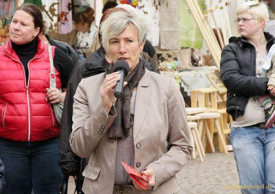 Ines Wartenberg die Geschäftsführer-Stelle des Stadtmarketingvereins Greiz