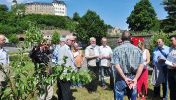 Entente-florale-Jury besucht die Stadt Greiz