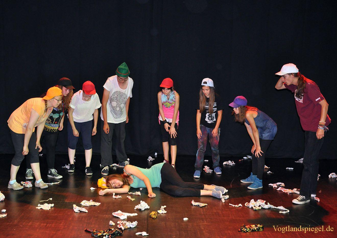 Ganzjahreswerkstatt des Greizer Theaterherbstes präsentierte Nimmerland