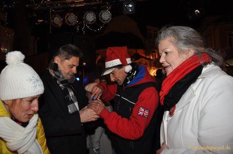 Hunderte Greizer setzen friedliches Zeichen auf dem Weihnachtsmarkt