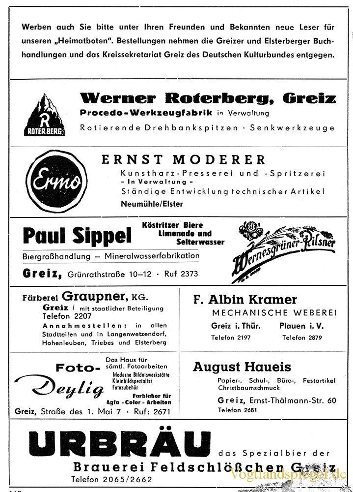 Greizer Heimatbote Juni 1962