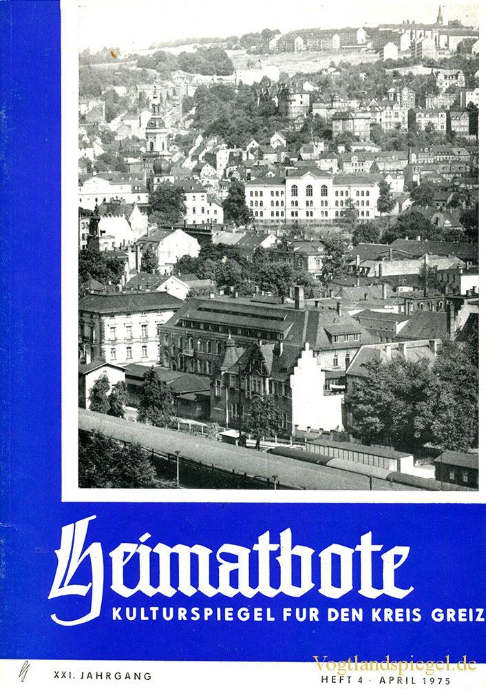 Greizer Heimatbote April 1975