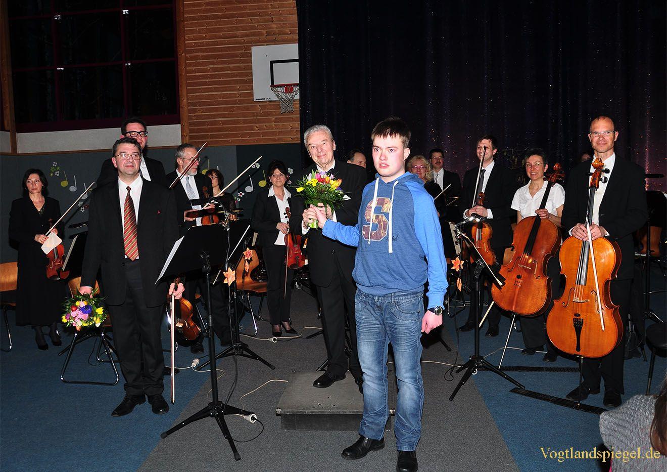 Vogtland Philharmonie bringt Frühling nach Carolinenfeld