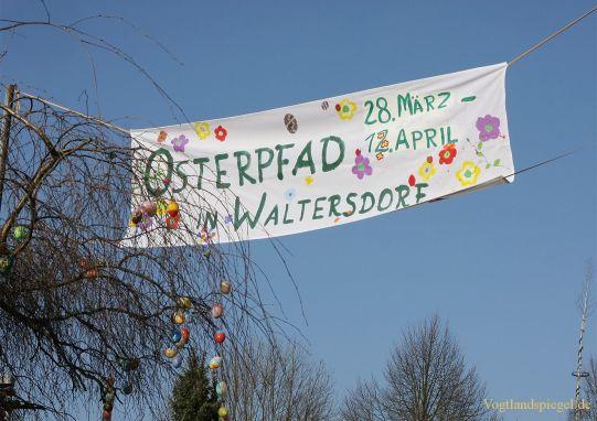 Waltersdorf wird zum Hasendorf