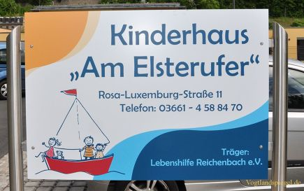 Kinderhaus -Am Elsterufer- in der Greizer Neustadt