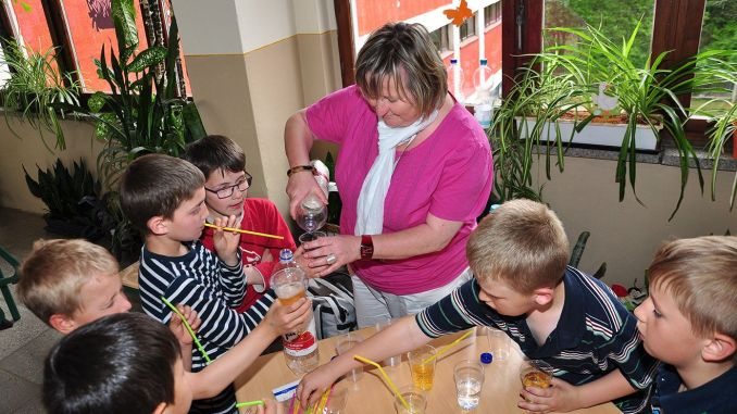 """Grundschule Zaschberg betreibt mit """"Klasse 2000"""" Gesundheitsförderung"""