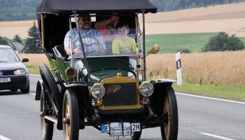 Horch Klassik rollt durchs Vogtland