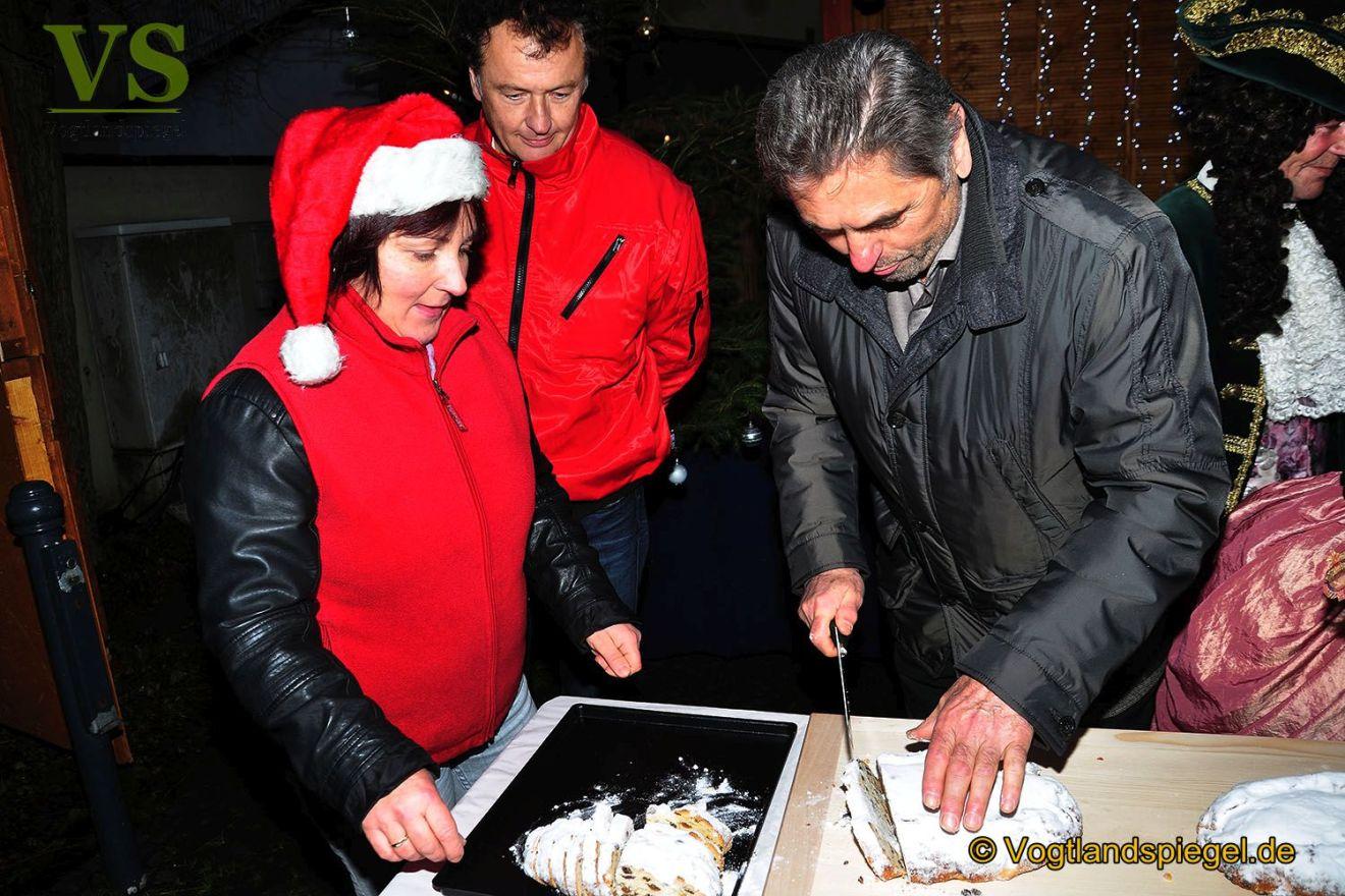 Greizer Weihnachtsmarkt öffnet seine Pforten
