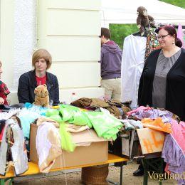 Spielemarkt rund um das Greizer Sommerpalais