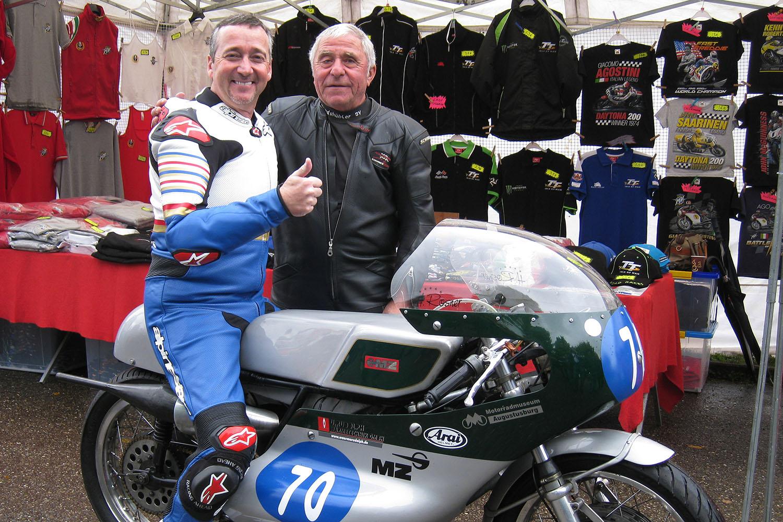 Motorrad-Legenden auf dem Sachsenring
