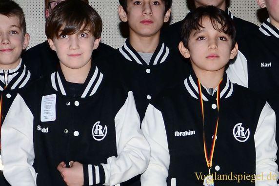 Ringen: Shaid Juschaev und Ibrahim Galamatov sind Mitteldeutsche Doppelmeister