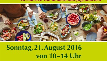 1. Greizer Bürgerfrühstück am 21. August