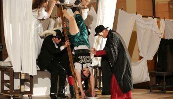 Greizer Theaterherbst: Eröffnungsinszenierung: Der Teufel mit den Titten