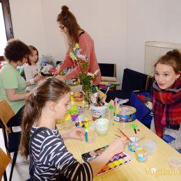 KreAktivtag: Schönes Miteinander beim österlichen Basteln