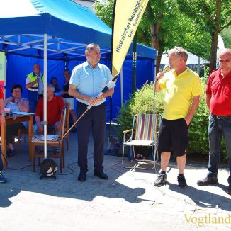 28. ADAC-Fahrertreffen für historische Renn- und Sportfahrzeuge in Neumühle/Elster