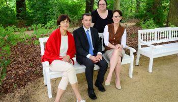 Freundeskreis der Sammlungen des Sommerpalais zu Greiz stiftet Parkbank