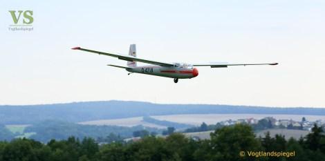 Bestens besuchte Modellflugschau in Obergrochlitz