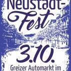 Plakat Greizer Neustadt-Fest