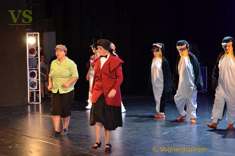 Vogtlandhalle Greiz: Kunterbunte Tanzsportwelt