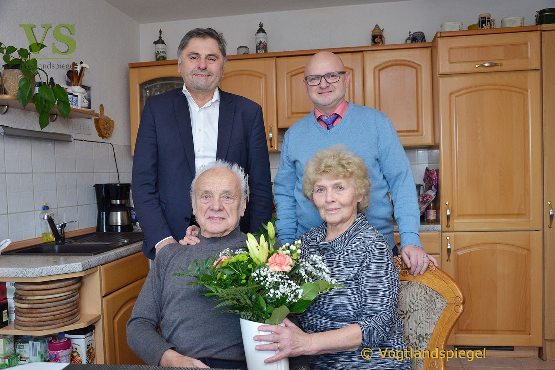 Kurt und Annerose Wenzlaff begehen Fest der Diamantenen Hochzeit