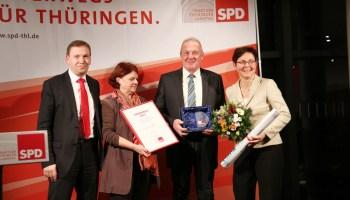 SPD-Landtagsfraktion ehrt Harald Jatho