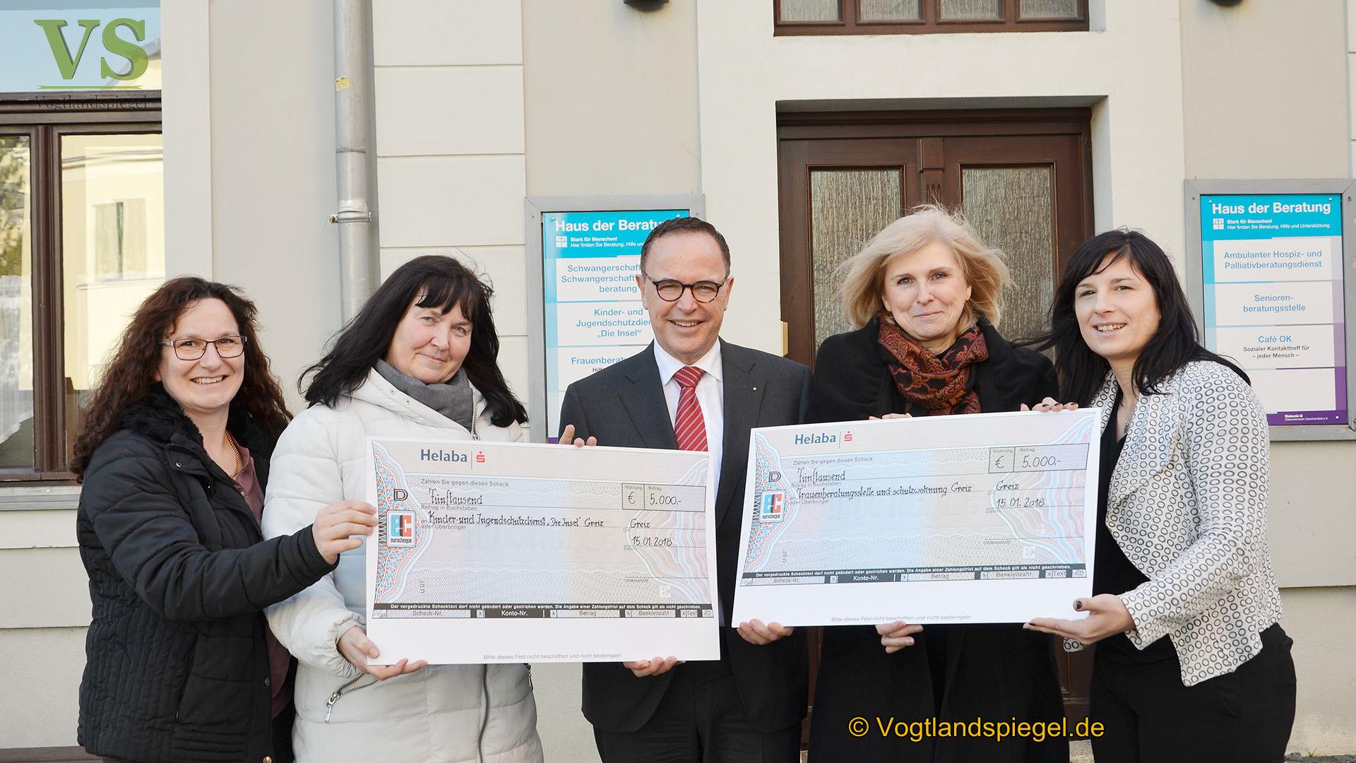 Diakonieverein Carolinenfeld freut sich über 10.000-Euro-Spende der Helaba